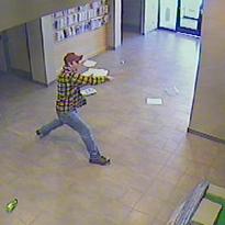 Grafton man trashes police department lobby