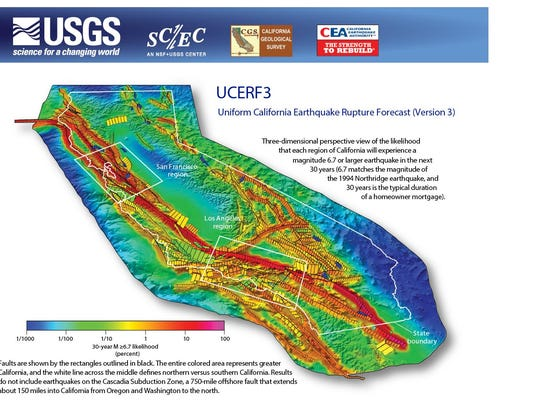 The Big One More Likely Earthquake Forecast Indicates