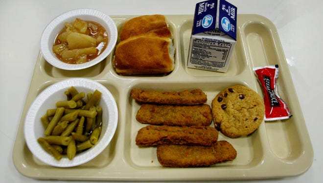 Media report that frozen meat served to students in East Tennessee had dates of 2009-2011.