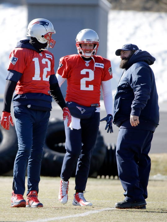 Tom Brady, Brian Hoyer, Matt Patricia