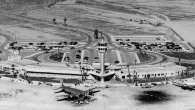 Sky Harbor Airport in in Phoenix in 1954.