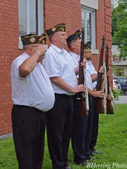 A scene from the Beacon Memorial Day celebration on