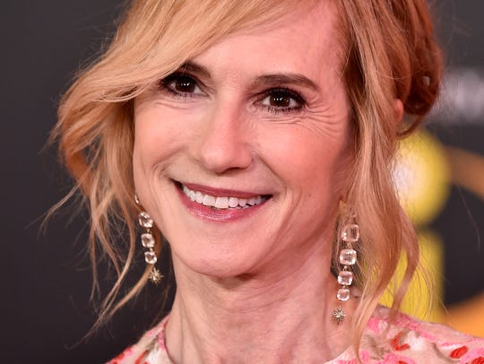 "Holly Hunter attends the ""Incredibles 2' premiere in"