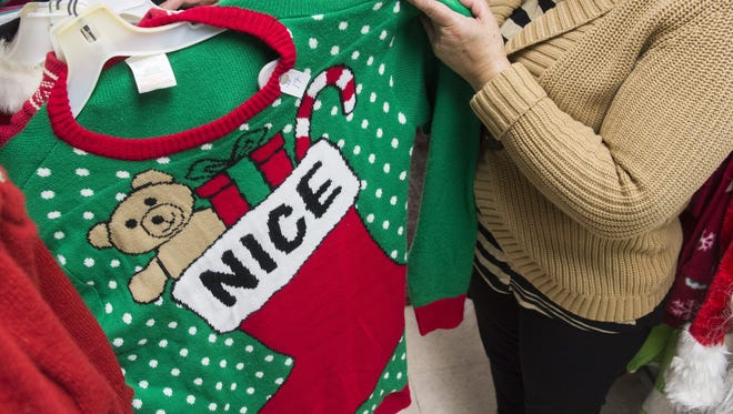 Consumers' desire for ugly holiday sweaters has taken off in recent years as people try to out do one another with the ugliest sweater.
