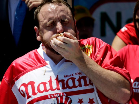 EPA USA HOT DOG EATING CONTEST ACE CUSTOMS & TRADITIONS USA