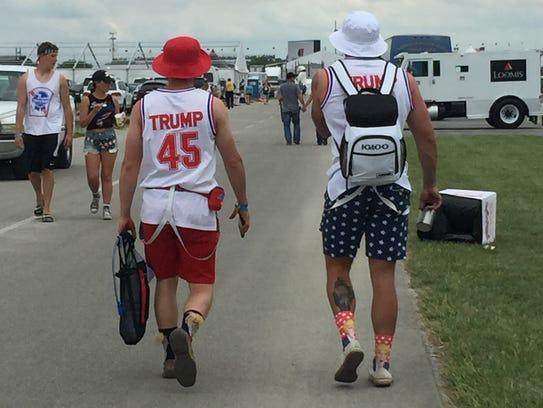 Their socks are yuge. Yuge, I tell you.