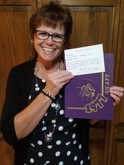 The gift of a long-lost yearbook meant everything to Sage Rutty employee Nancy Templeton.