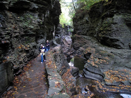 The state bought the Watkins Glen State Park property