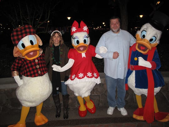 Debi Johnson visits Disney and her favorite characters six times a year.