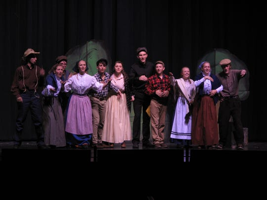 "Plymouth High School's ""One Act"" cast has again advanced to the state competition, this year with the production, ""The Worlds of Mark Twain."""