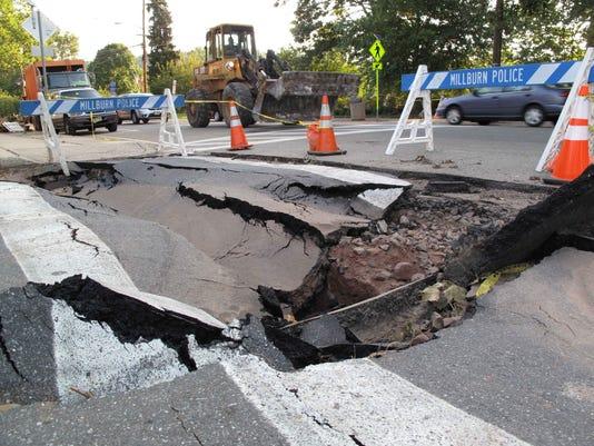 Irene Roads Devastated