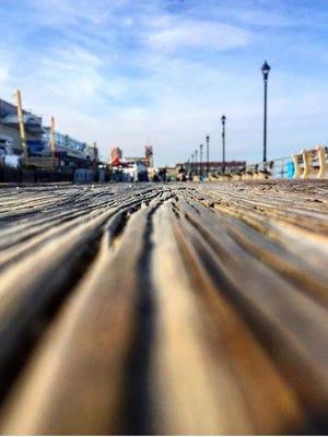 The Asbury Park boardwalk.