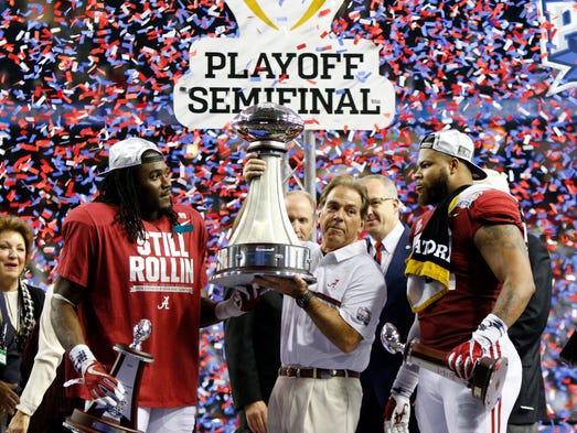 Dec. 31: Alabama defeated Washington, 24-7, to win
