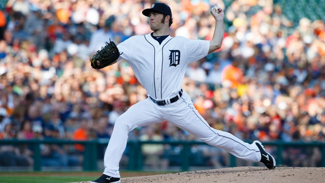 Detroit Tigers pitcher Kyle Ryan starts for the Tigers today against the White Sox.