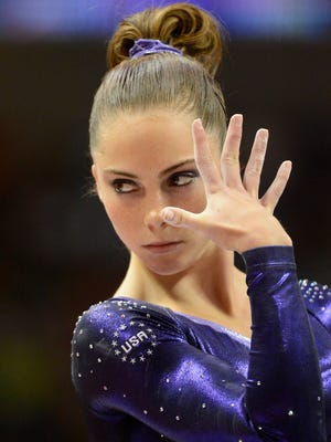McKayla Maroney performs in 2012.