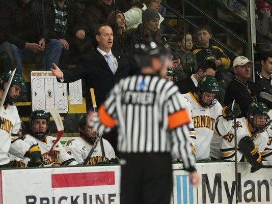 Merrimack vs. Vermont Men's Hockey 02/20/15