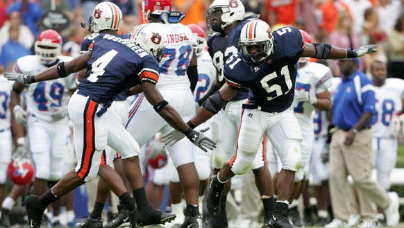 Auburn announced the promotion of Travis Williams to