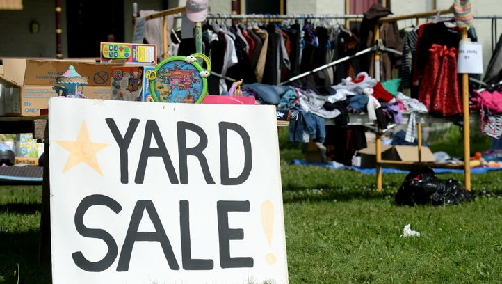 800 miles of yard sales will be centered in Wayne County next week