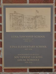 This plaque is one of two plaques featured on the monument.