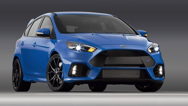 2016 Ford Focus RS. All-new Focus RS makes North American debut at the 2015 New York International Auto Show.