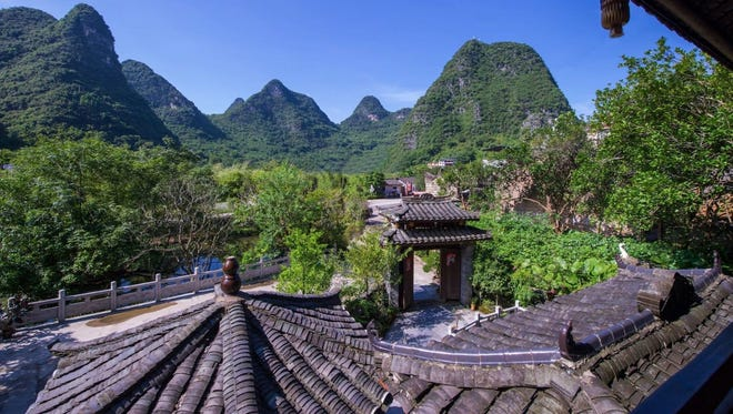A photo from a listing in the town of Guilin in the province of Guangxi in China. China announced on March 21, 2017 that it is investing more in China and the Chinese travel market.