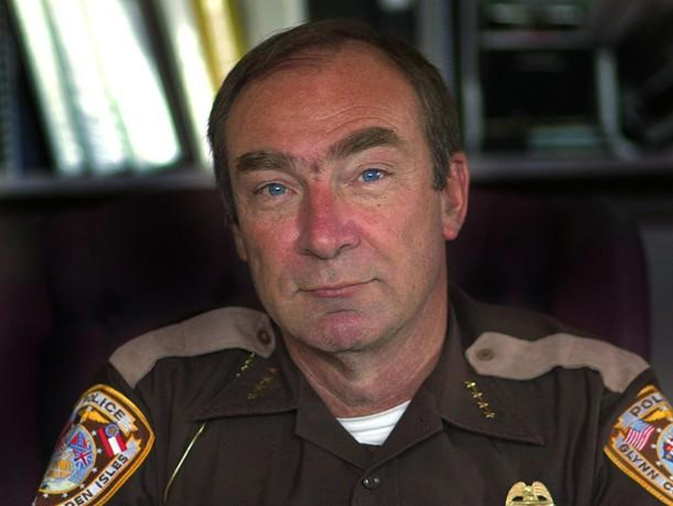 Matt Doering, chief of the Glynn County Police Department.