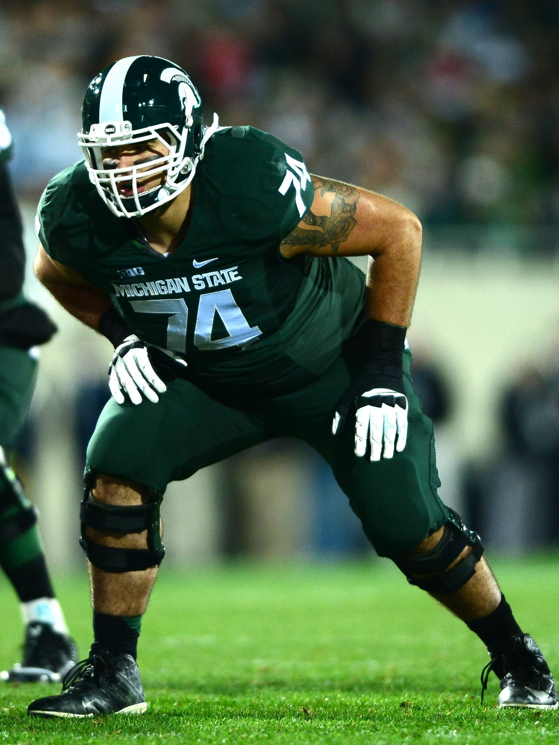 Michigan State offensive tackle Jack Conklin
