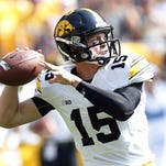Former  Iowa Hawkeyes quarterback Jake Rudock is off to Michigan, according to multiple reports.