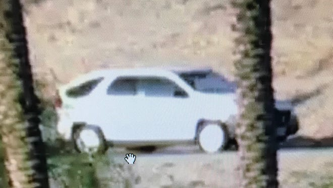 The California Highway Patrol released a photo of an SUV that passed the scene of a fatal crash Saturday morning in Coachella. Investigators say the driver may have witnessed the crash and need help finding the person.