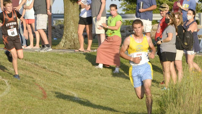 Central Heights senior David Craft has led the Viking boys in the first two competitions this season. Craft finished seventh Thursday in the Lyndon Invitational.