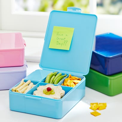 Pottery Barn Kids' Spencer Bento Box, which is BPA-