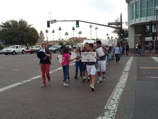 Tempe High School protest