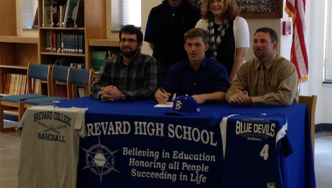 Brevard's Alec DuBreuil has signed to play baseball for Brevard College.