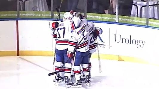 Amerks defeat Pirates 2-1 Friday.
