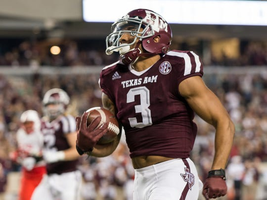Texas A&M Aggies wide receiver Christian Kirk