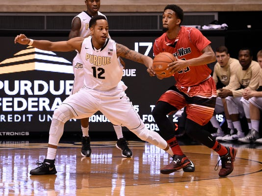 NCAA Basketball: Gardner-Webb at Purdue