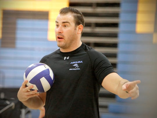 Head coach Brock Redmond says of his Agoura High volleyball