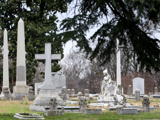 """Historic Elmwood Cemetery is home to hundreds of interesting monuments, and recently introduced a self-guided tour titled """"Elvis Connections"""" thatshowcases gravesites of those with a personal or historical relationship with Elvis Presley."""