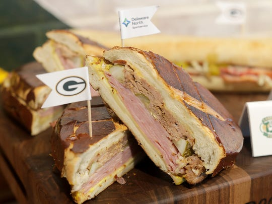 Wisconsin Cuban sandwich includes pork marinated in beer and beer mustard.