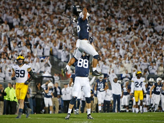 Michigan Wolverines Penn State Nittany Lions