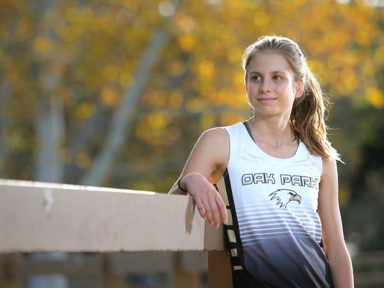 Oak Park High junior Sylvia Cruz-Albrecht didn't start