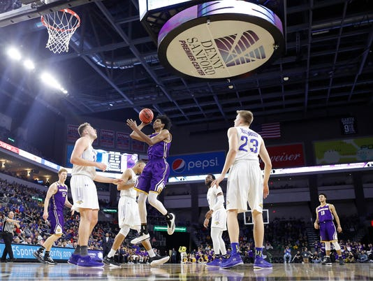 South Dakota State vs Western Illinois Summit League Basketball