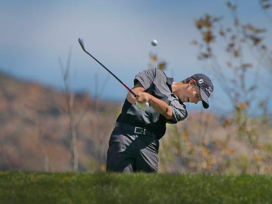 Joey Zambri was the MVP golfer of the Coastal Canyon League.