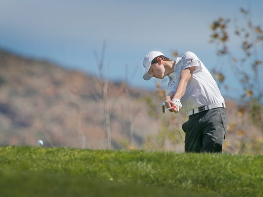 Tristan Gretzky was a standout golfer at Oaks Christian and is now playing for Pepperdine University.