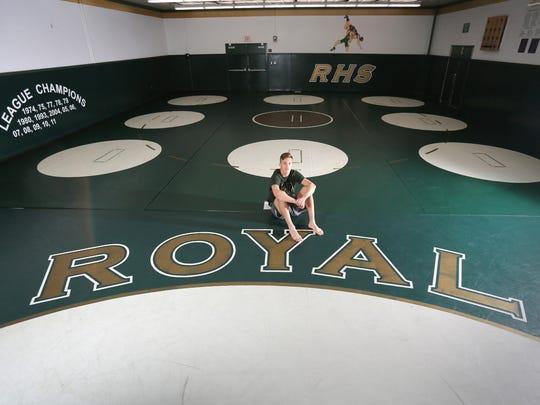 After winning a CIF title, Royal High wrestler Jacob