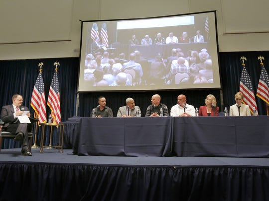 A panel spoke at a drug summit about the power of addiction and ways to counter the opioid epidemic in Simi Valley in 2018. This year's event is Tuesday.