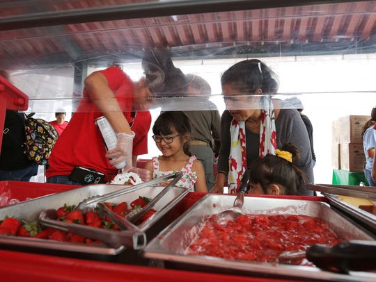 Strawberries will take center stage at the Strawberry Festival in May but artists and crafters are being sought.