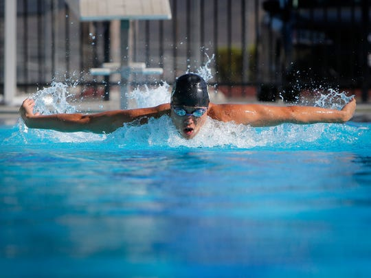 After a sensational high school career at Newbury Park, Jason Lu will swim for Pomona College while pursuing a degree psychology.