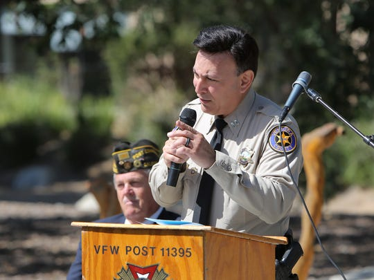 Don Aguilar, assistant chief of police in Thousand Oaks, is one of the plaintiffs suing the Sheriff's Office for discrimination.