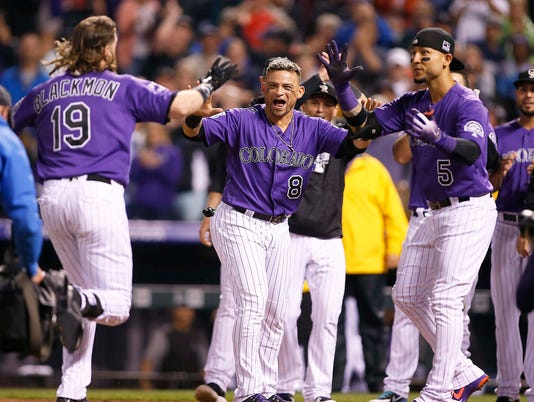 MLB: Houston Astros at Colorado Rockies
